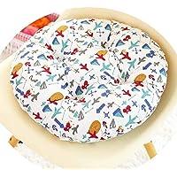 女の子の心の椅子のクッションクッションクッション学生の教室かわいいおならパッド厚い畳座クッションブースターパッド,飛行機の矢,50x50cm [通常の厚]