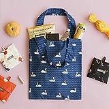 [Dailylike] エコバッグ Pocket Bag 01 Lサイズ (05 Doodling)