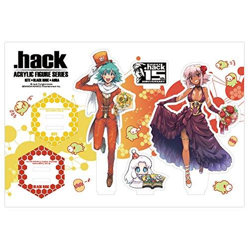 『.hack』シリーズ15周年記念 アクリルフィギュアシリーズ 全3種 カイト&ブラックローズ ver.