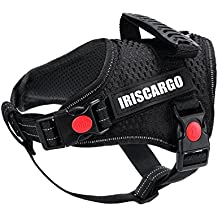 IrisCargo No Pull Dog Harness Reflective Adjustable Pet Vest Dog Puppy Harness with Easy Control Handle for Small Medium Large Dogs, Small Size