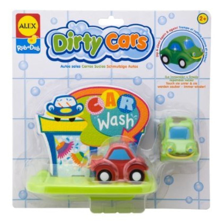 Alex Toys Bathtime Fun Dirty Cars 888W おもちゃ [並行輸入品]