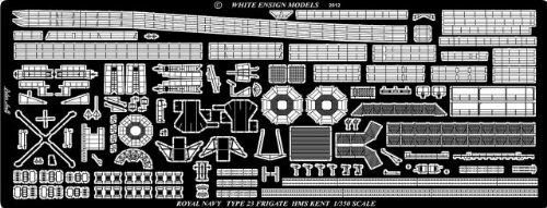 1/350 英海軍 23型フリゲート用エッチングパーツ (TP社用) (WM35167)