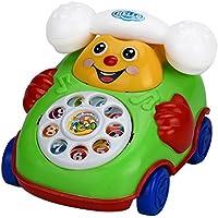 教育おもちゃ、baomabao Cartoon Smile電話車教育Developmental Kids Toyギフト