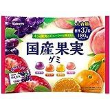 カバヤ食品 国産果実グミ 180g ×5袋