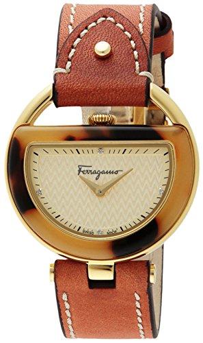 [サルヴァトーレフェラガモ]Salvatore Ferragamo 腕時計 BUCKLE ゴールド文字盤 FG5020014 レディース 【並行輸入品】