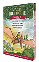 Magic Tree House Boxed Set, Books 1-4: Dinosaurs Before Dark, The Knight at Dawn, Mummies in the Morning, and Pirates Past Noon by Mary Pope Osborne(2001-05-29)