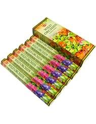 HEM(ヘム)社 ワイルドオーキッド香 スティック WILD ORCHIDS 6箱セット