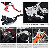 TARAZON CNC Quick Adjust Clutch Lever Perch With Hot Start for Honda CR125 CR250 CRF 250R 250X CRF 450R 450X CR80 CR85 CR500 XR250 XR400 XR600 CRF150 CRF250L CRF230