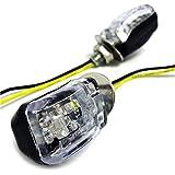 (maxima★select) 小型 ミニ LED ウインカー 6mmボルト 汎用 2ヶ1セット 点灯確認済み バイク オートバイ ヤマハ スズキ ホンダ カワサキ