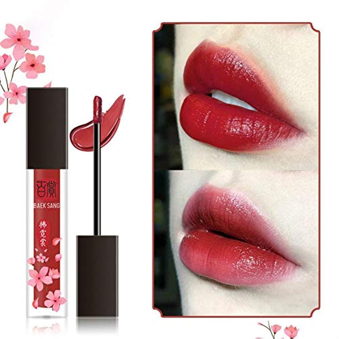 風景適応するアベニューFlightbird女性マットベルベットリップグレーズ美人化粧品口紅長持ちするリップグロス液体リップクリーム初心者口紅人気の唇膏