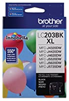 Brother Printer LC203BK High Yield Ink Cartridge, Black [並行輸入品]