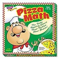 Trend ®ピザ数学ゲームカード、ピザ数学、AST (パックof10)