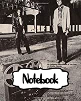"""Notebook: Orchestral Manoeuvres in the Dark OMD English Electronic Band Architecture & Morality (1981) Album, Large Notebook for Drawing, Doodling or Writting: 110 Pages, 7.5"""" x 9.25"""". Kraft Cover Notebook ( Blank Paper Drawing and Write Notebooks )"""