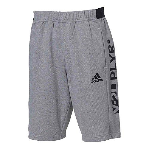 adidas(アディダス)メンズ 5Tハーフパンツ スウェット 野球 トレーニングウェア ミディアムグレー ETY33 CX2219 O