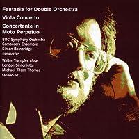Bainbridge:Fantasia/Viola Conc