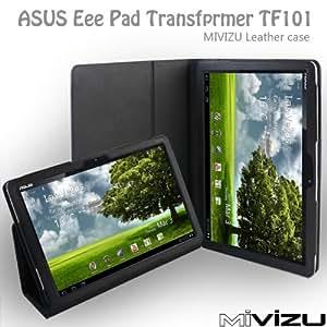 ASUS Eee Pad Transformer TF 101 10.1型 専用 レザーケース NYブランドMIVIZU社 [PC]