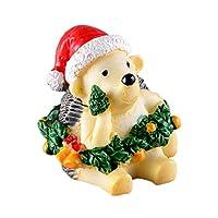 SONONIA マイクロ 風景 樹脂 盆栽 装飾 クリスマス 庭 置物 小道具 18種 - ヘッジホッグ