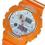 カシオ CASIO Gショック G-SHOCK Gライド In4mation コラボ メンズ 腕時計 GAX-100X-4A ブルー/オレンジ[逆輸入品]