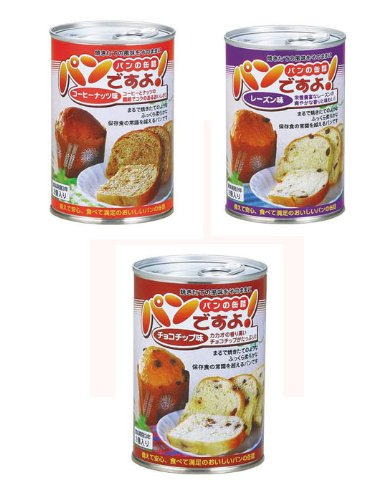 社会福祉法人 名古屋ライトハウス 缶入りパン パンですよ 24缶セット チョコチップ味
