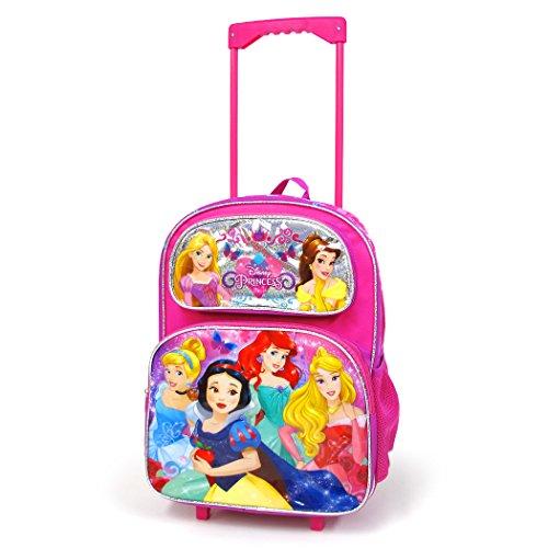 ディズニー プリンセス 子供 キャリーバッグL コロコロ 旅行 かばん