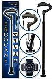 Ergocane By Ergoactives. Fully-adjustable Ergonomic Cane (Black/Glossy) by Ergoactives