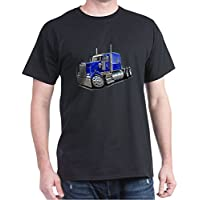 CafePress - Kenworth W900 Blue Truck - 100% Cotton T-Shirt