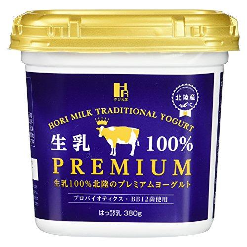 [冷蔵] 生乳100%北陸のプレミアムヨーグルト380g