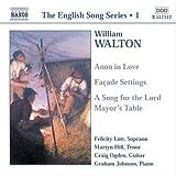 ウォルトン:歌曲集(フェリシティー・ロット/マーティン・ヒル) 画像