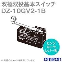 オムロン(OMRON) DZ-10GV2-1B 双極双投基本スイッチDZシリーズ (ヒンジ・ローラ・レバー形) NN