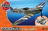 エアフィックス クイックビルドシリーズ D-DAY スピットファイア ノンスケール 塗装済みブロック式組み立てキット QB0045