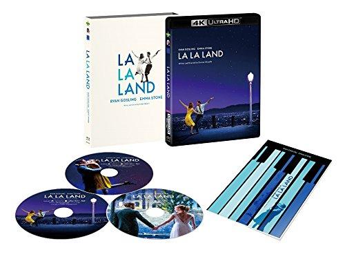 【早期購入特典あり】ラ・ラ・ランド 3枚組/4K ULTRA HD+Blu-rayセット(オリジナルチケットホルダー付) [4K ULTRA HD+Blu-ray]