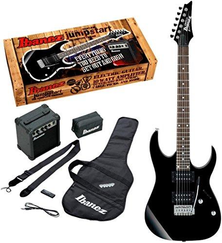 Ibanez アイバニーズ IJRG220Z Jumpstart エレキギター Pack (Black) エレキギター エレクトリックギター ...