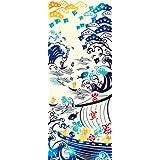kenema 和雑貨 注染手ぬぐい 『縁起』 宝船 36×90cm