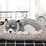 【本格派】 本物そっくりに眠る犬のぬいぐるみ 活性炭 車 車内 空気 浄化 飾り 可愛い (わんこ-3)