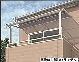 Amazon.co.jpキロスタイルテラス R型屋根 2階用 1間×6尺 ポリカーボネート 積雪20cm対応 ※2階取付金具は別売   ステンカラー