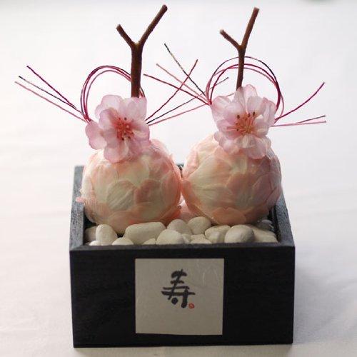 和風リングピロー 桜