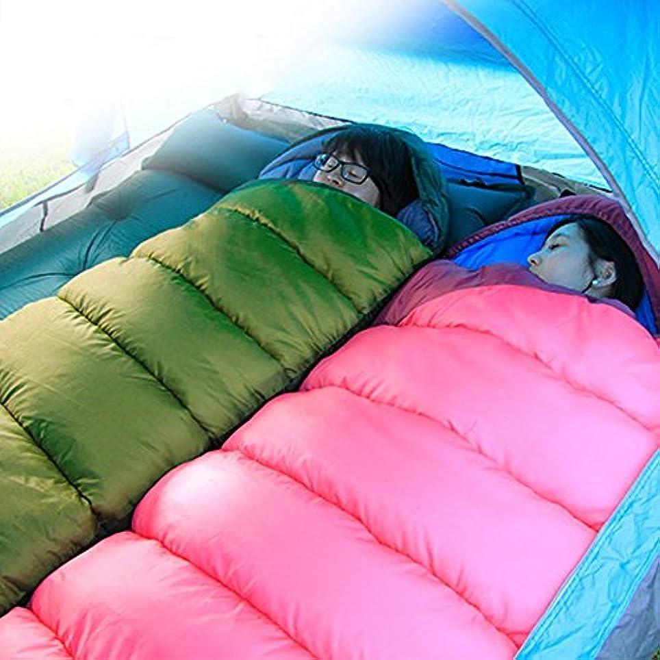 ベンチポジション尋ねるLjha shuidai Sleepingバッグ大人アウトドア暖かいキャンプ寝袋インドアウルトラライトポータブルSleepingバッグ