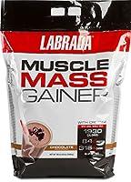 海外直送品LABRADA Nutrition Muscle Mass Gainer, Chocolate, 12 Pound