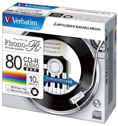 三菱ケミカルメディア Verbatim 音楽用 CD-R M...