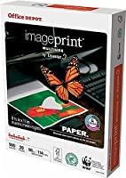 Office Depot ImagePrint Multiuse Paper by Domtar, 8 1/2in. x 11in., 20 Lb, FSC Certified, White, 500 Sheets, 1821RM by Office Depot