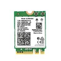 Intel AX200 Better 9260用ネットワークカード、ネットワークカードAX200NGW 2.4Ghz / 5Ghzに内蔵されたデュアルバンドワイヤレス、Bluetooth 5.0対応、最大1730Mbps(9260AC)