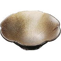 山下工芸(Yamasita craft) 黒南蛮金吹刺身鉢 15×15×4.7cm 11028290