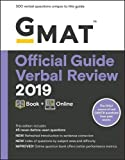 GMAT Official Guide Verbal Review 2019: Book + Online (Gmat Official Guides)