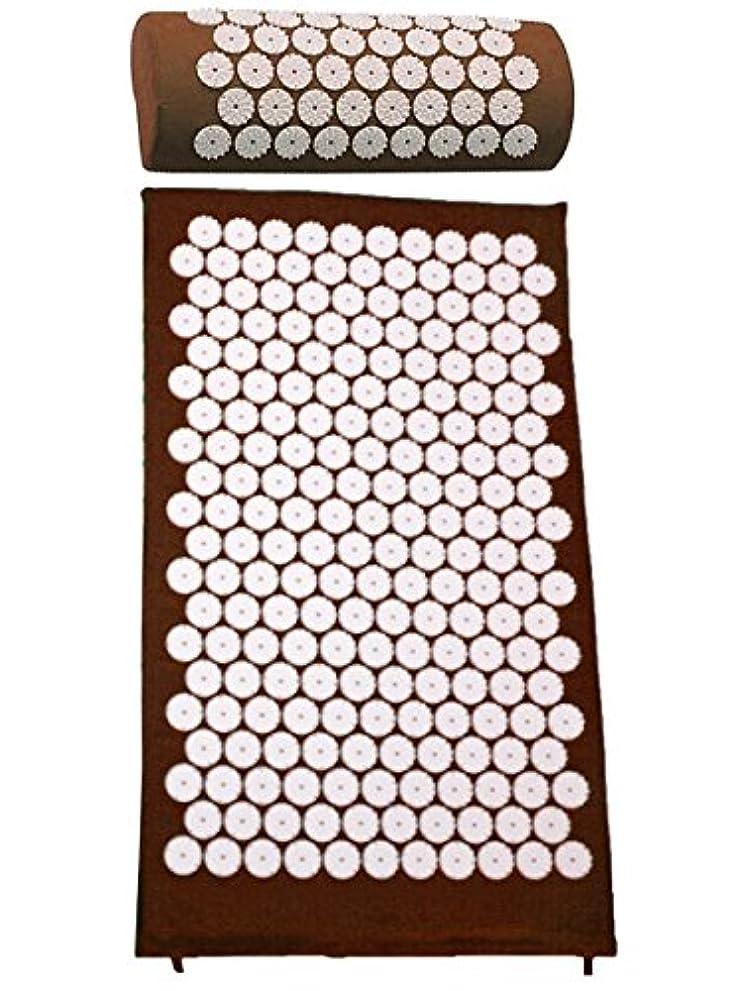 一般化する棚ラフレシアアルノルディpurefit(ピュアフィット) スパイスセット マット・ピロー PF430 (ブラウン)