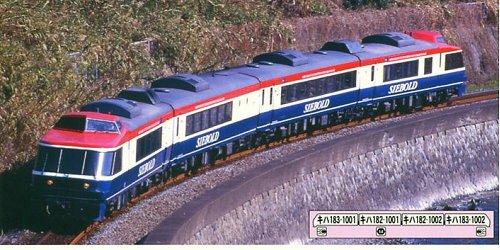 Nゲージ A8248 キハ183系1000番台 特急「シーボルト」 4両セット