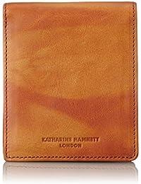 [キャサリンハムネットロンドン] 財布 高級イタリアベジタブルタンニンレザー FLUID フルイド 二つ折り 490-59200