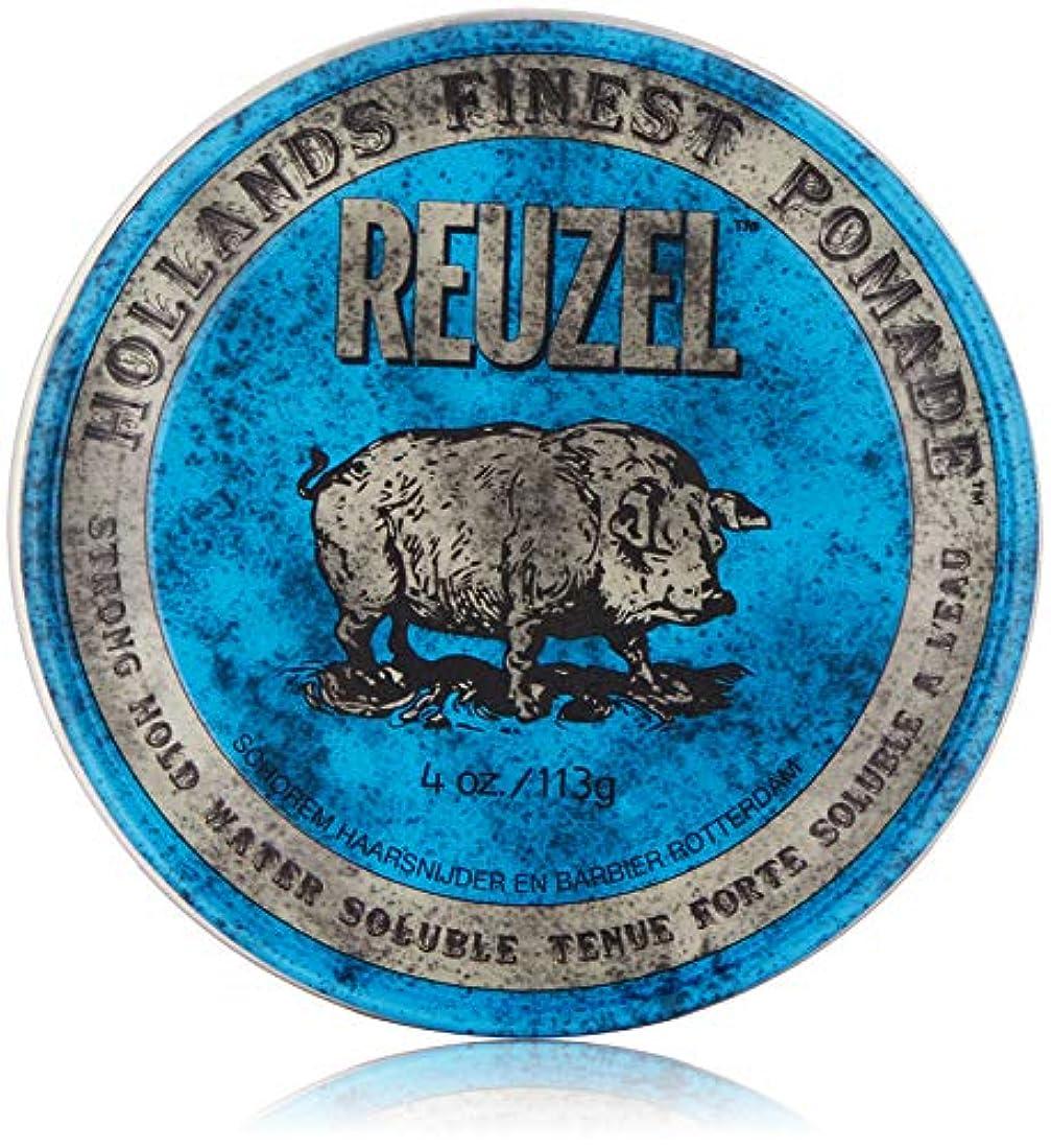 ゴミ葬儀遡るReuzel Blue Strong Hold High Sheen Pomade by Reuzel
