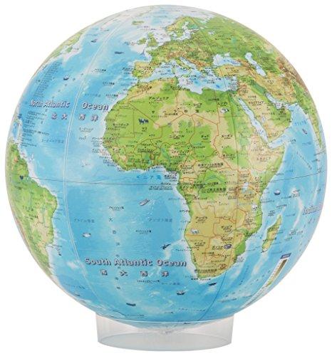 ほぼ日 地球儀 非フタル酸系塩ビ製 GEB1711N00100 B0779R1356 1枚目