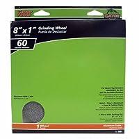 ALI INDUSTRIES 6001 Medium 25 CT Grit Grind Wheel, 8-Inch x 1-Inch x 1-Inch [並行輸入品]