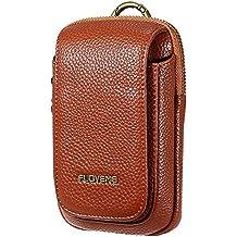 FLOVEME Portable Waist Bag Pu Leather Phone Bag Crossbody Bag For Men